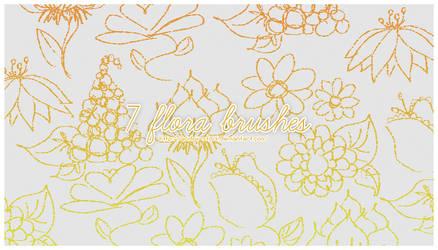 7 Flora Brushes