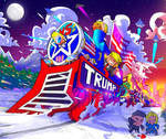 The Christmas Trump Train!