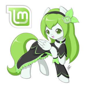Linux Mint-Tan Pony Ver. (Source DL)