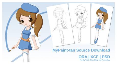 MyPaint-tan (Source Download)