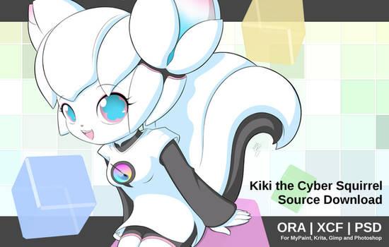 Kiki the Cyber Squirrel - Source Download