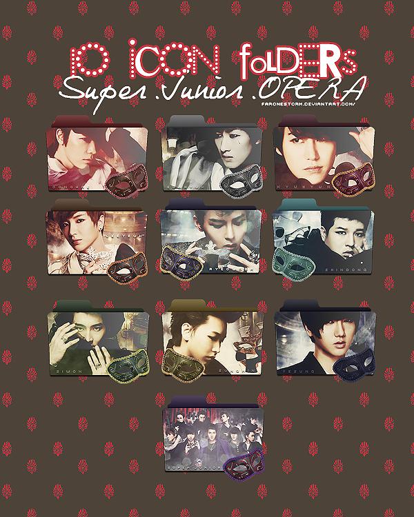 Icon Folders Super Junior OPERA by FaroneStorm by FaroneStorm