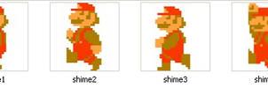 SMB Style Mario Shimeji