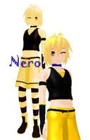 MMD NC Nero DL by CrazedVampireGirl