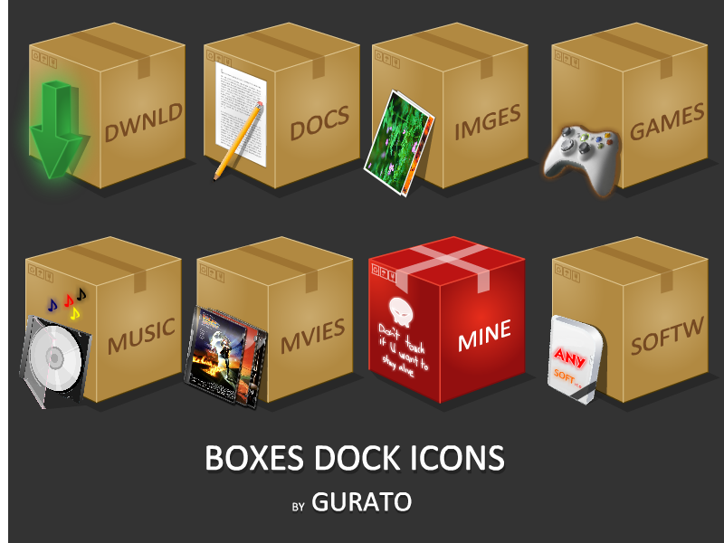 Boxes by Gurato