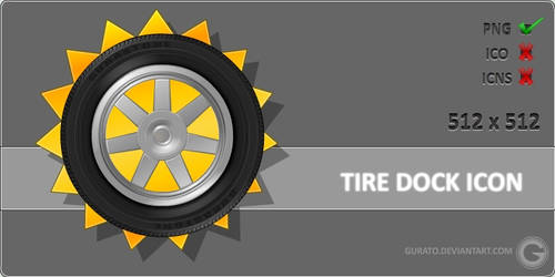 Tire Dock Icon