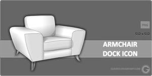 Armchair Dock Icon