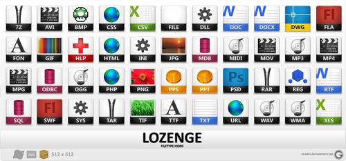 Lozengue Icons