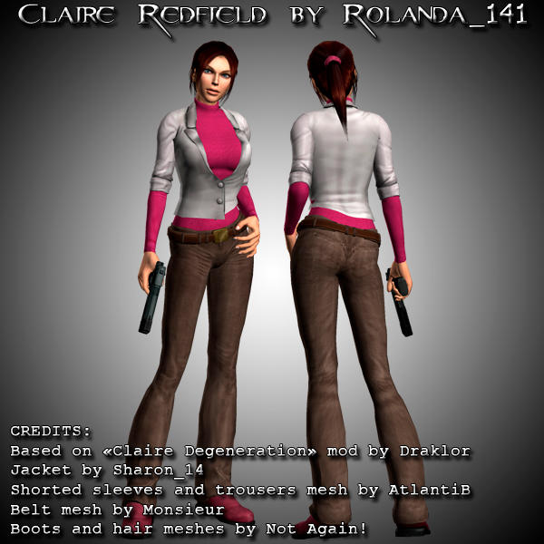Claire Redfield Claire_redfield_mod_by_hailsatana-d30910z