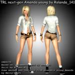 TRL next-gen Amanda young mod