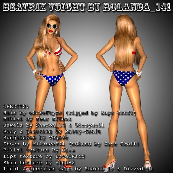 Beatrix Voight mod by HailSatana