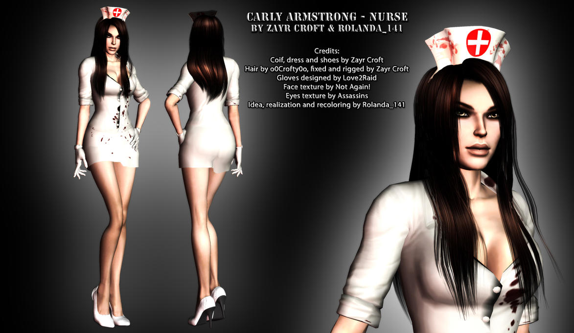 Carly Armstrong nurse mod by HailSatana