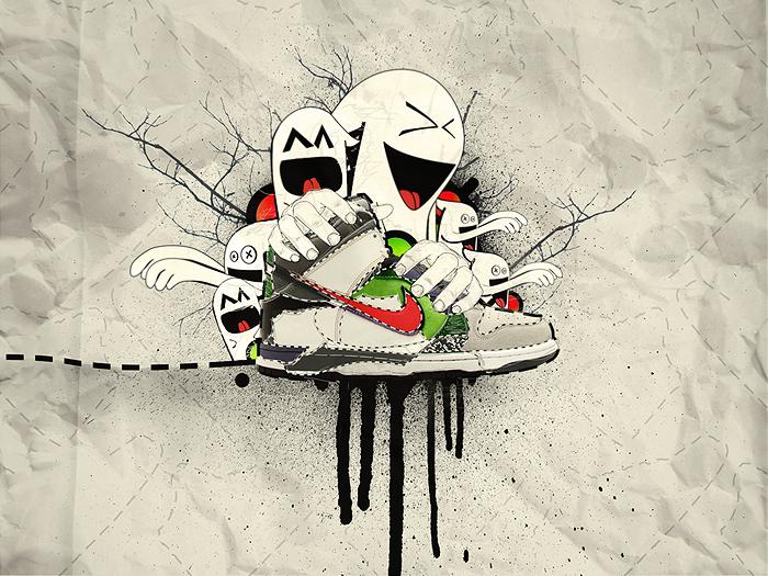 Nike Dunks Wallpaper By Iateurcookie On Deviantart