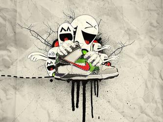 Nike Dunks Wallpaper by iateurcookie