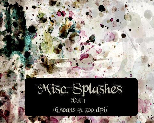 Splashes Vol1 by Tereme
