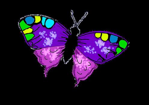 Color de mariposa, gif