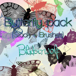 Butterfly pack (Stock + Brushes)