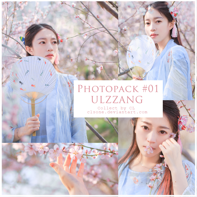 [161102] PHOTOPACK #01 - ULZZANG by CLSone