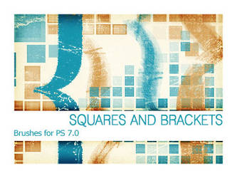 Squares and Brackets PS 7.0 by Pfefferminzchen