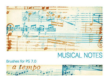 Musical Notes PS 7.0 by Pfefferminzchen
