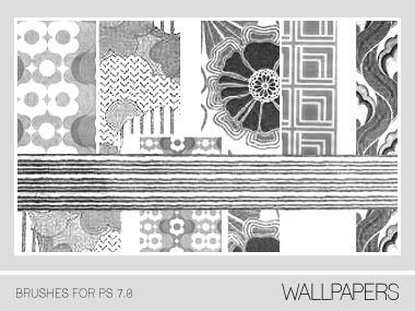 Wallpapers Brushes PS 7.0 by Pfefferminzchen