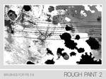 Rough Paint II Brushes PS 7.0