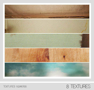 Assorted Textures Set No. 2 by Pfefferminzchen