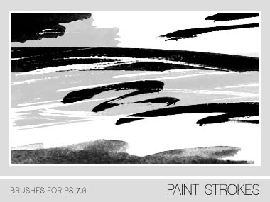 Paint Strokes Brushes PS 7.0