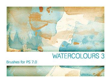 Watercolours 3 PS 7.0 by Pfefferminzchen