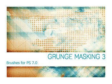Grunge Masking 3 PS 7.0 by Pfefferminzchen