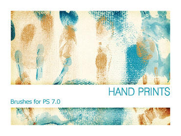 Hand Prints PS 7.0 by Pfefferminzchen