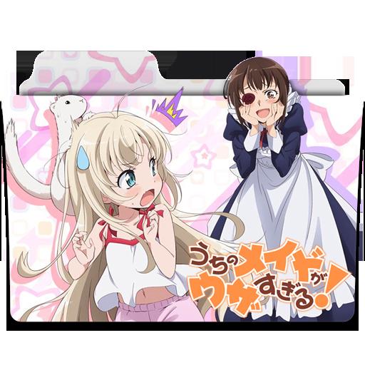 "Képtalálat a következőre: ""Uchi no Maid ga Uzasugiru! 512x512"""