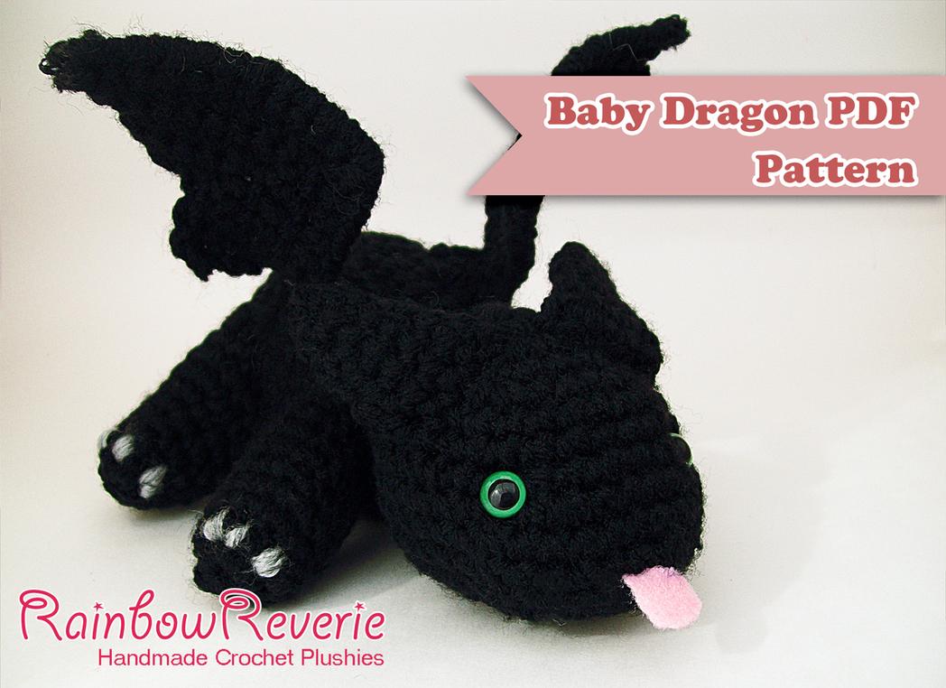 Baby Dragon Amigurumi Pattern by RainbowReverie on DeviantArt