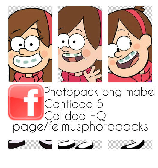 Photopack png Mabel by Mariatutorials2