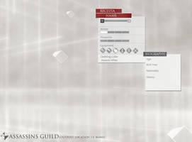 Assassins Creed O.C. Profile Template by Kai1984