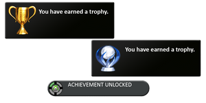 PS3Trophy and 360Achievement