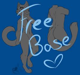 Free Male Cat Base by TheGrapeDemon