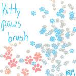 Kitty paws brush