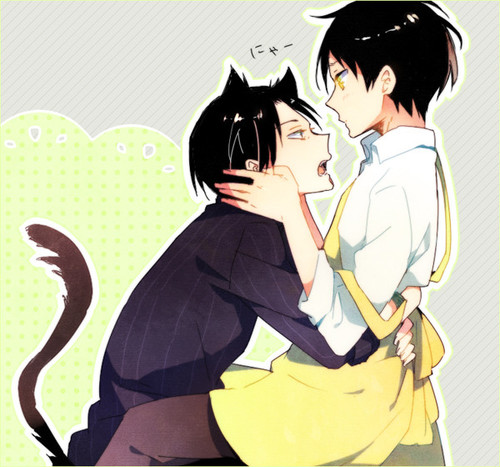 Neko!Levi x Reader - Pay Attention to me Dammit! by