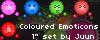 Emoticon set1 by Juunanagou17