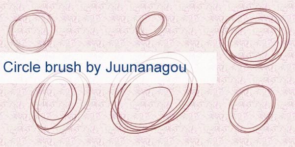 Circle lines brushes by Juunanagou17