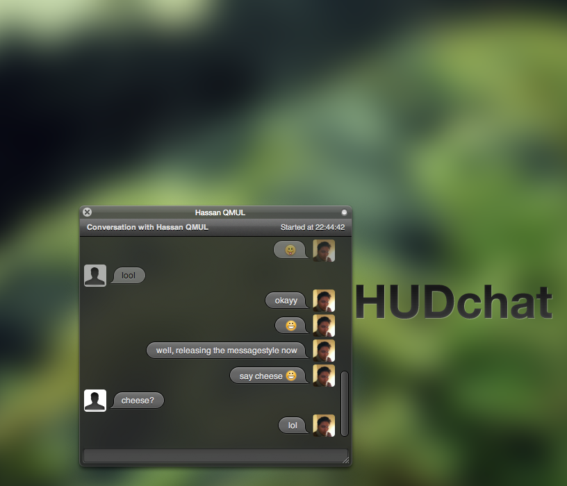 HUDchat 1.1 by pritthish