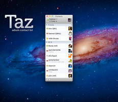 Taz - Contact List by pritcee