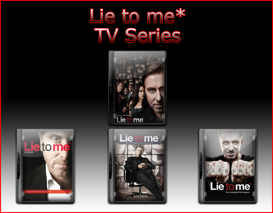 Lie to me Tv Series Icons by jake2456 on DeviantArt