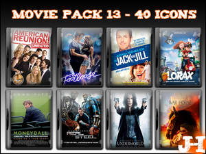 Movie Pack 13 - 40 Icons
