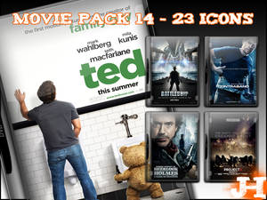 Movie Pack 14 - 23 Icons
