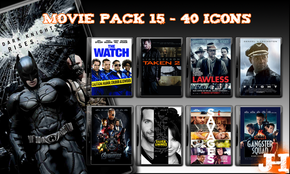 Movie Pack 15 - 40 Icons