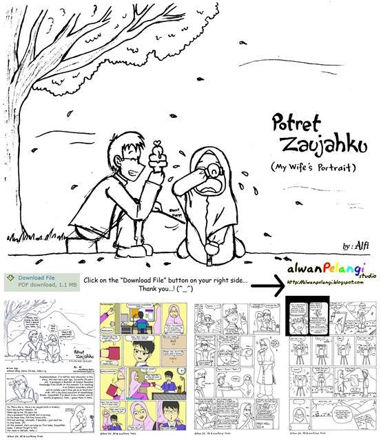 My Wife's Portrait - PDF Comic by putrazmi91