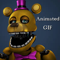 [Blender/FNAF4] Making FredBear