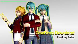 [MMD Download] Benjamin's PoseData Pack#1 by BenjaminRomero